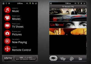 XBMC Remote Interface