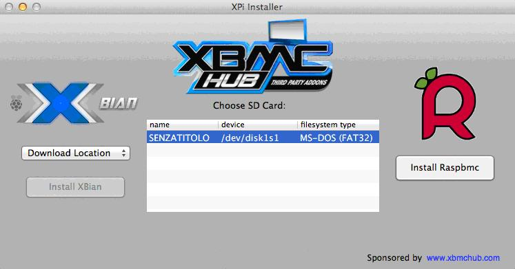 xbmc installer sur mac
