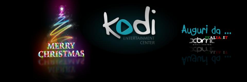 Auguri a Tutti … con il nuovo Kodi