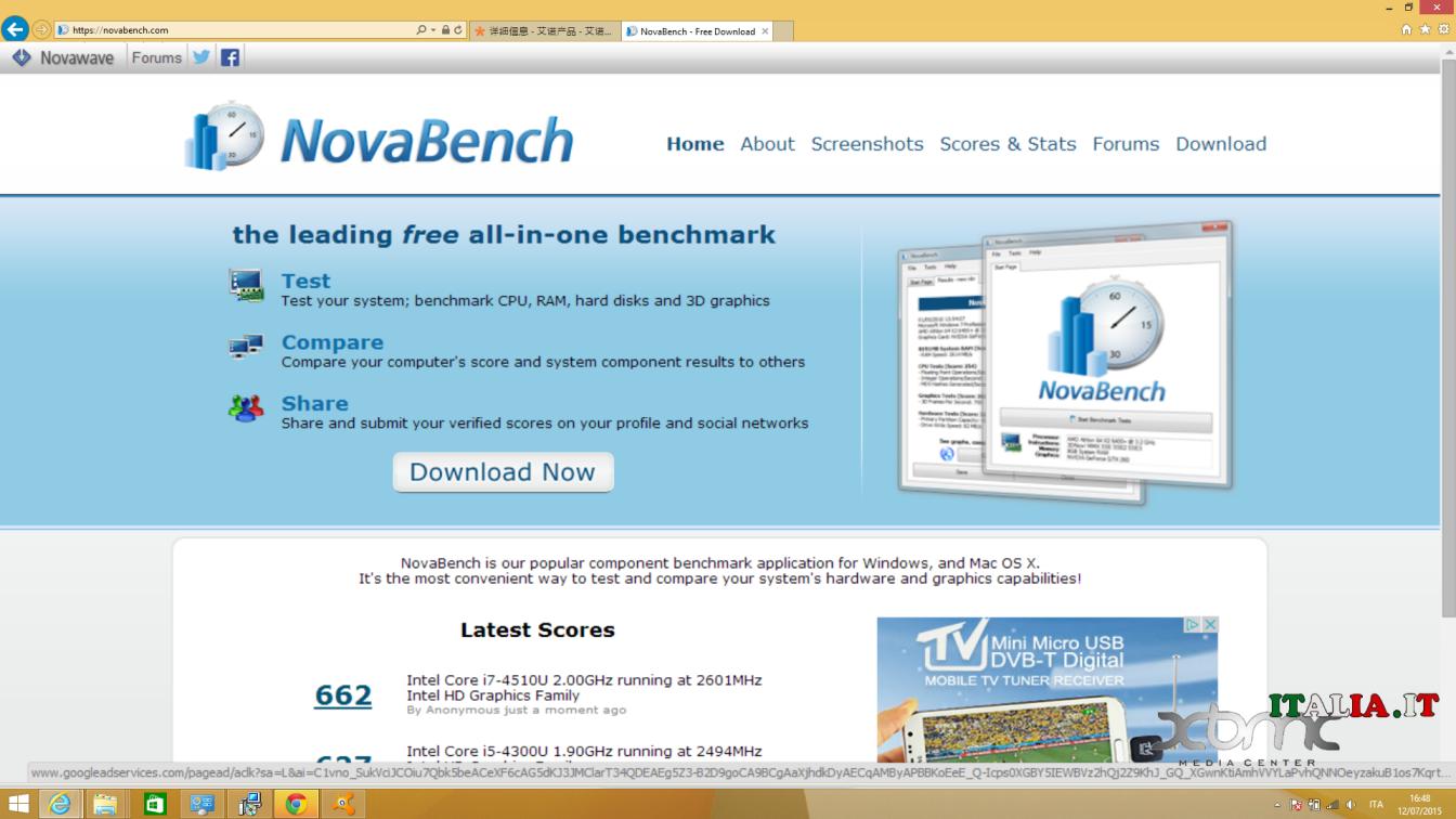 Exceptional Nova Bench Download Part - 4: 4 - Novabench XBMC